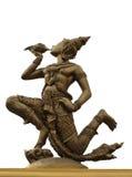 Indra dmucha konchę Zdjęcie Stock