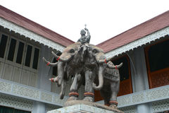 Indra with elephant Stock Photos