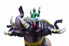 Indra the elephant temples in Thailand Royalty Free Stock Photos