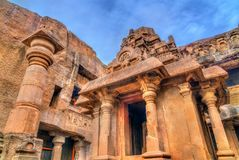 Indra Sabha, cueva ningunos de Ellora 32 Sitio del patrimonio mundial de la UNESCO en el maharashtra, la India Foto de archivo