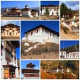 Indrukken van Bhutan Stock Foto's