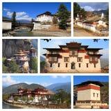 Indrukken van Bhutan Royalty-vrije Stock Foto's