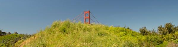Indrukken van Golden gate bridge in San Francisco vanaf 2 Mei, 2017, Californië de V.S. Royalty-vrije Stock Foto's