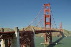 Indrukken van Golden gate bridge in San Francisco vanaf 2 Mei, 2017, Californië de V.S. Royalty-vrije Stock Afbeelding