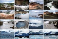 Indrukken van IJsland Stock Fotografie