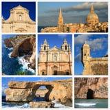 Indrukken van Malta Stock Afbeelding