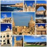 Indrukken van Malta Stock Fotografie