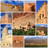 Indrukken van Oman Royalty-vrije Stock Foto's