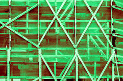 Indrukwekkend licht donkergroen roodachtig groenachtig kader buiten o Stock Afbeeldingen