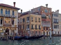 Indrukwekkende Arsenale in Venetië royalty-vrije stock afbeelding