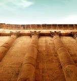 Indrukwekkende Griekse muur Stock Fotografie