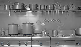 indrustrial κουζίνα Στοκ Εικόνα