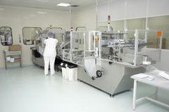 Indústria farmacêutica Imagens de Stock