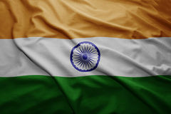 indu bandery Obrazy Royalty Free