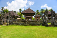 Indu temple in Ubud, Bali, Indonesia. Royalty Free Stock Photos