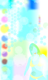 Induce 1. 70's disco royalty free illustration