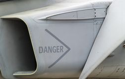 Inducteur d'airfighter Photo libre de droits