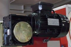 Inductiemotor in drie stadia stock afbeeldingen