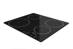 Induction cooktop stove Stock Photography