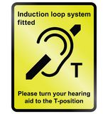 Induction Loop Facility Royalty Free Stock Photography