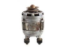 Induction motor, isolated on a white background Stock Image