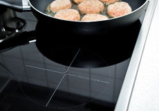 Induction Stove. Royalty Free Stock Photo