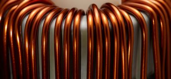 Inductor detail Stock Photography