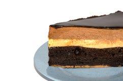 Indulgence de chocolat Photographie stock libre de droits