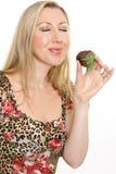 Indulgence de fraise images stock