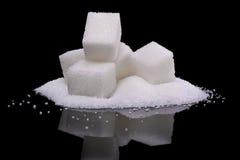 Indulgencia del azúcar foto de archivo