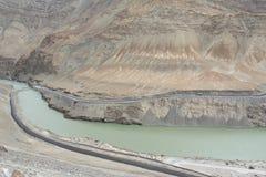 Indus River, Ladakh. Stock Image