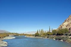 Indus River, Ladakh, India. Indus River in Ladakh, India Stock Images