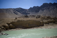 Indus River, Ladakh, India Royalty Free Stock Image