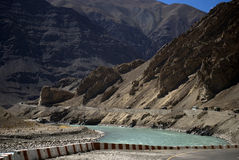 Indus River, Ladakh, India Stock Images
