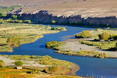 Indus river, Ladakh, Jammu and Kashmir, India. Beautiful Indus river flowing through Ladakh, Jammu and Kashmir, India, natural landscape and scenic view of royalty free stock photography