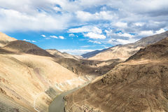 Indus river valley Stock Photo