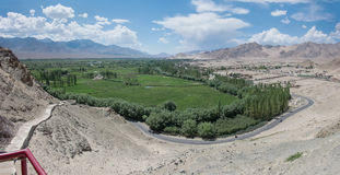 Indus River valley Stock Image
