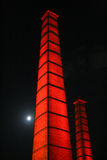 Industial chimney 1 Royalty Free Stock Photography