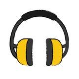 Industial earmufss equipment Royalty Free Stock Photo