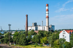 Industrial factory Royalty Free Stock Photos