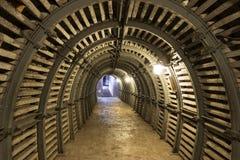 Industial ondergronds in Polen Royalty-vrije Stock Foto's