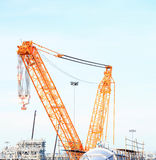Industrail crane Stock Photo