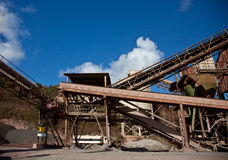Industral Buildings at a Stone Quarry. Site stock photography