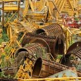 Industriële achtergrond Stock Foto's