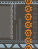 Industriële Achtergrond Stock Afbeeldingen