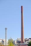 Industriële Achtergrond Stock Foto