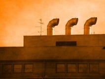 Industriële achtergrond Stock Afbeelding