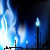 Industriële Achtergrond De illustratie van de voorraad Royalty-vrije Stock Foto