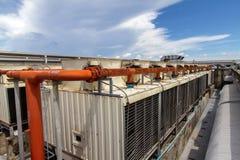 Industriële airconditioner Royalty-vrije Stock Foto's