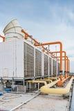 Industriële airconditioner Stock Foto's